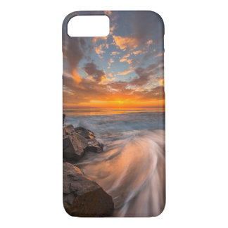 Sunset from Tamarach Beach iPhone 7 Case