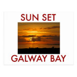 Sunset Galway Bay Postcards