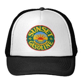 Sunset Gasoline Trucker Hat
