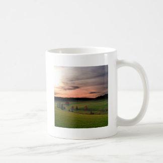 Sunset German Field Of Dreams Coffee Mugs