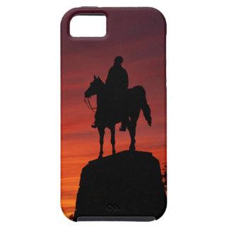 Sunset - Gettysburg National Park - Meade Memorial iPhone SE/5/5s Case
