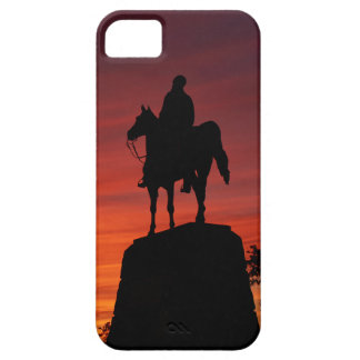 Sunset - Gettysburg National Park - Meade Memorial iPhone SE/5/5s Case