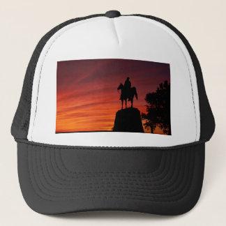 Sunset - Gettysburg National Park - Meade Memorial Trucker Hat