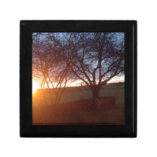 Sunset Jewelry Box