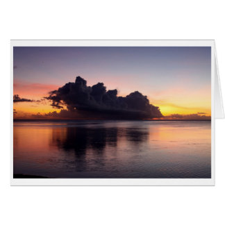 Sunset Giftcard Card