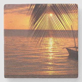 Sunset Stone Beverage Coaster