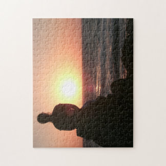 Sunset Girl puzzle