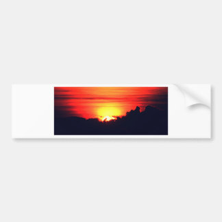 Sunset Glow Bumper Sticker