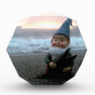 Sunset Gnome Acrylic Award
