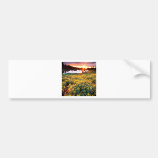 Sunset Gold King Basin San Juan Colorado Bumper Sticker