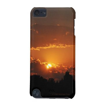 linda_mn Sunset Golden Rays iPod Touch 5G Cover