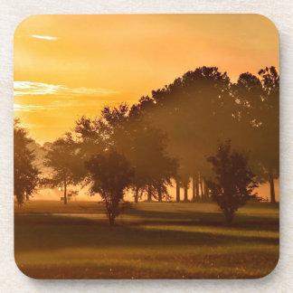 Sunset Golfers Dream Coasters
