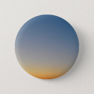 sunset gradient background blue orange evening sky pinback button