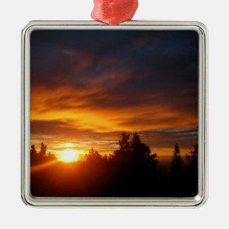 Sunset Gravity Archer Christmas Ornament
