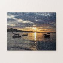 Sunset Grenada Caribbean. Jigsaw Puzzle