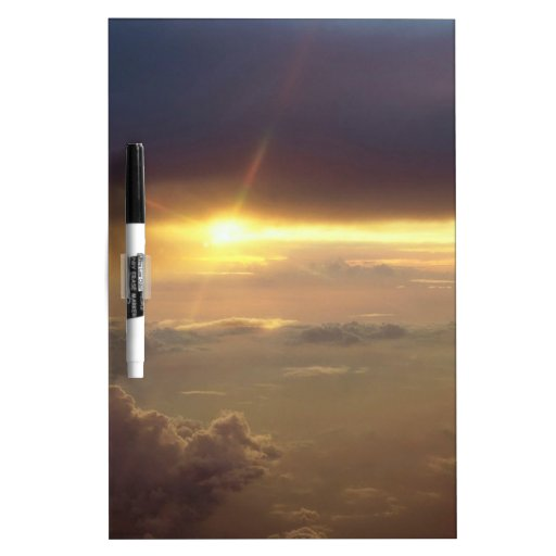 Sunset Guiding Light Dry Erase Board