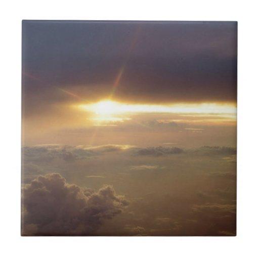 Sunset Guiding Light Tiles