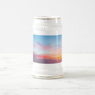 Sunset Handry's Beach Beer Stein
