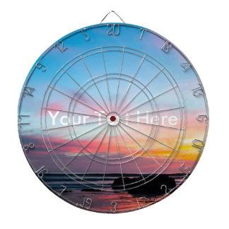 Sunset Handry's Beach Dartboard