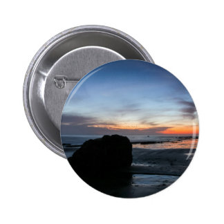 Sunset Handry's Beach Pinback Button