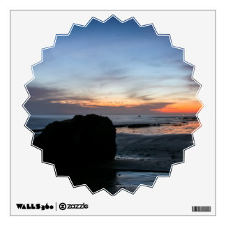 Sunset Handry's Beach Wall Sticker