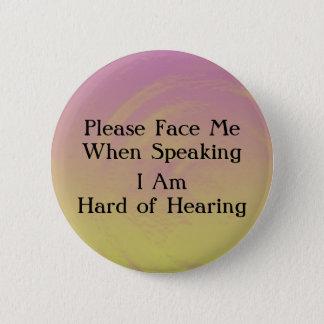 Sunset Hard of Hearing Button