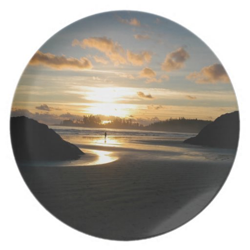 Sunset Heavenly Party Plate