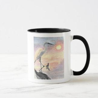 Sunset Herons Mug