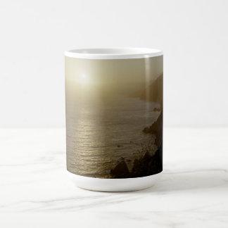 Sunset Highway 1 Coffee Mug
