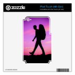 Sunset Hike Decal For iPod Touch 4G