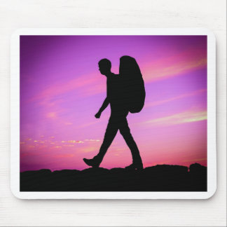 Sunset Hike Mouse Pad