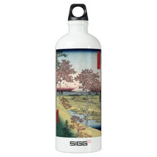 Sunset Hill, Meguro in the Eastern Capital. Aluminum Water Bottle