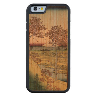 Sunset Hill, Meguro in the Eastern Capital. Carved® Cherry iPhone 6 Bumper Case