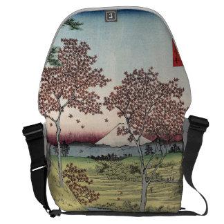 Sunset Hill, Meguro in the Eastern Capital. Messenger Bag