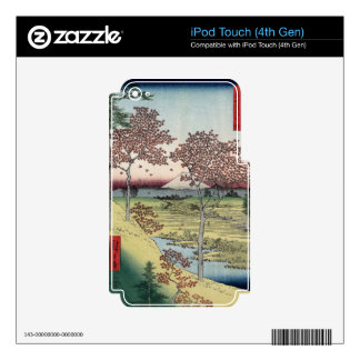 Sunset Hill, Meguro in the Eastern Capital. iPod Touch 4G Skin