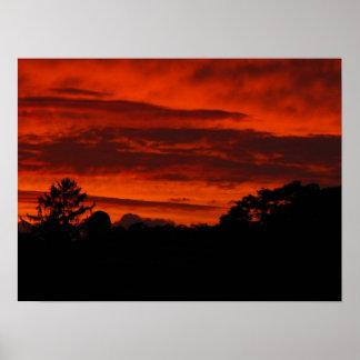 Sunset @ Hobo ~ 14 Poster