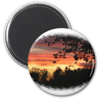Sunset (holly) Magnet
