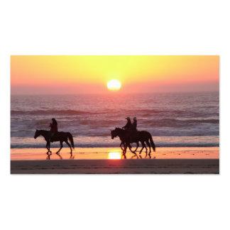 Sunset Horse Business Card