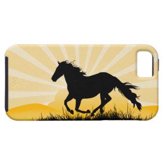 Sunset Horse iPhone Case