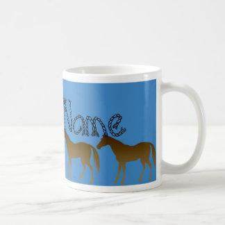 Sunset Horses Personalized Mug