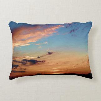 Sunset Hues Accent Pillow