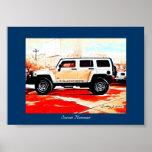 """""""Sunset Hummer"""" © 2010 S.J. Poster"""