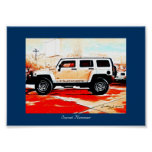"""""""Sunset Hummer"""" © 2010 S.J. Posters"""