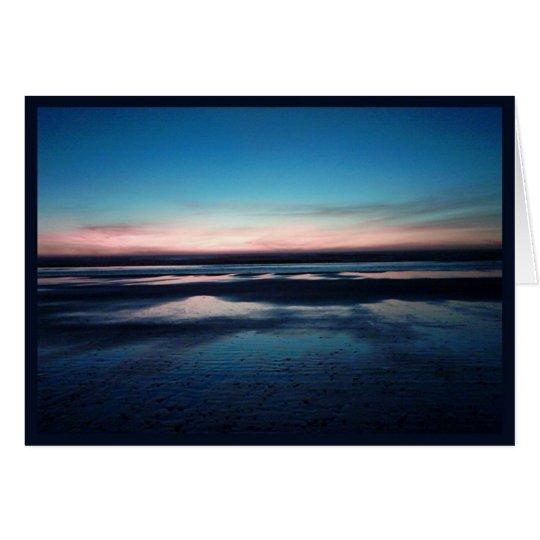 Sunset  I Card