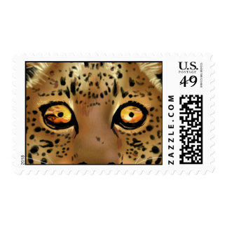 Sunset in a Leopard's Eyes Stamps