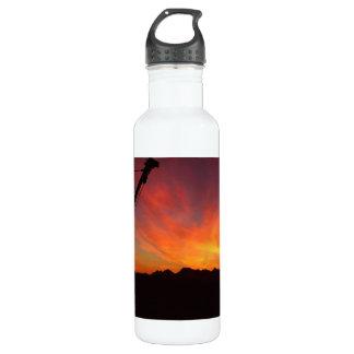 Sunset in Alaska Stainless Steel Water Bottle