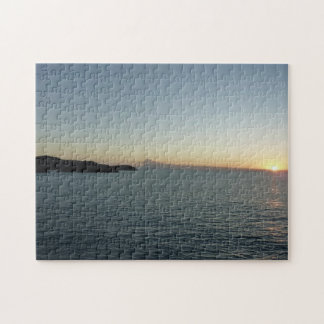 Sunset in Antigua II Seascape Photography Jigsaw Puzzle