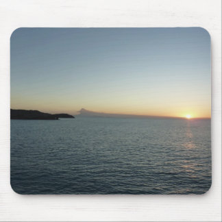 Sunset in Antigua II Seascape Photography Mouse Pad