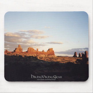 Sunset in Arches, Utah Mouse Pad