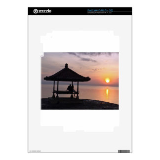 Sunset in Bali Decal For iPad 2